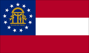 Georgia State Flag, Current